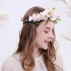 Marguerite Cheveux Garland Bandeaux Diadème Fleur Festival Bandeau Hairband
