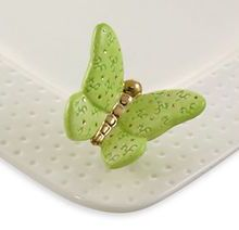 Nora Fleming Butterfly Mini | Ceramic minis attach to Nora Fleming serving platters and dishes for a unique touch at every celebration | $12.95 @ BettesGifts.com #norafleming