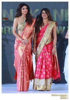 Choosing the Perfect Wedding Saree – Fashion Asia Indian Bridal Sarees, Indian Beauty Saree, Saree Draping Styles, Saree Styles, Saree Blouse Patterns, Saree Blouse Designs, Indian Dresses, Indian Outfits, Indian Clothes