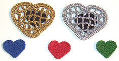 Ravelry: Caged Heart pattern by Cecinatrix.. Free pattern!