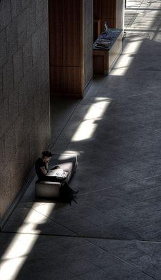 Reading light by theholyllama, via Flickr