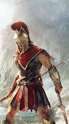 Assassin's Creed Odyssey is now live on Xbox One consoles for all players after being available in early access for several days for those who pre-ordered the Ultimate and Gold editions. Assa… Assassin's Creed Odyssey video game on Xbox One, and PC The Assassin, Arte Assassins Creed, Assassins Creed Odyssey, Greek Warrior, Fantasy Warrior, Mythos Academy, Assassin's Creed Wallpaper, Spartan Tattoo, Roman Warriors