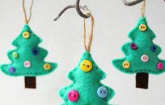 16 Superschattige zelfmaak ideetjes voor kerst, ook leuk voor de kids!