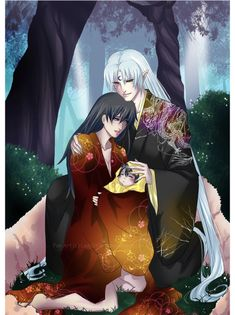 219 Best Sesshomaru and Rin images in 2019 | Anime Couples, Rin