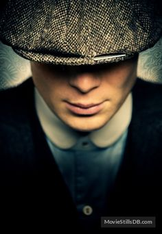 """""""Peaky Blinders"""" promotional art with Cillian Murphy"""