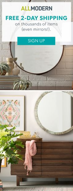 Mirrors - FREE 2-DAY SHIPPING on thousands of items!