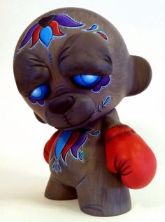 Vinyl Riot Blog: MaloApril x JC Rivera Bear Champ!!