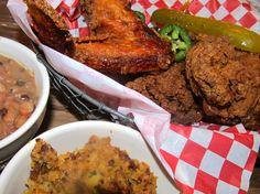 Best fried chicken in Austin at Lucy's