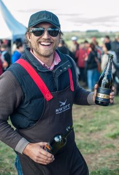 Love this photo of Ed Swift who heads up Printhie Wines - it captures the real Ed perfectly - the passion and pride in his product is palpable! Orange FOOD Week, FORAGE 2013.... Forage ©2013 Sam Shepherd