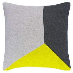 Buy House by John Lewis Balance Cushion, Navy Online at johnlewis.com