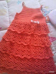 ganchillo y tricot...anamary: tutorial..vestido crochet