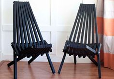 DIY Folding Stick Chairs