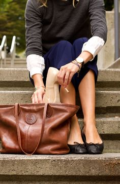 Styling My Life: OFK Leather Tote Giveaway! #OFKxSML
