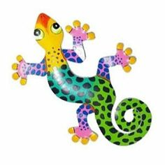 Leopard Gecko Wall Decor by Garden Fun. $24.99. Back in Stock! Getting overwhelmed searching to find the best metal gecko wall sculpture out there? Our top-selling Leopard Gecko Wall Decor is top notch!This top-selling Metal Gecko has been hand crafted and hand-painted with vibrant colors and meticulous detail. As all good hanging metal wall art should, this Gecko art piece comes with an attached hook, ready to hang outdoors on your garden walls, on your patio, or even i...