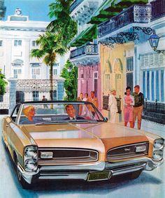 1966 Pontiac Grand Prix - 'San Juan, P.R.': Art Fitzpatrick and Van Kaufman