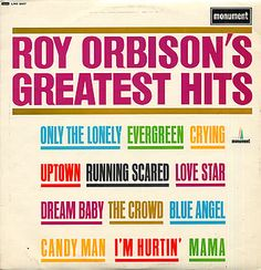 For Sale - Roy Orbison Roy Orbison's Greatest Hits UK  vinyl LP album (LP record) - See this and 250,000 other rare & vintage vinyl records, singles, LPs & CDs at http://eil.com