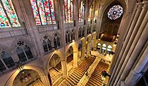 """The Washington National Cathedral. The """"mother ship"""" of the Episcopal Church."""