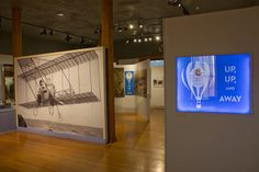 """""""Up, Up, and Away"""" is a 2015-2016 museum exhibition that demonstrates the rapid evolution of 20th century aeronautic technology by highlighting stories of flying adventures, with an Oregon emphasis. Themes include Benton County's connection with the Wright Brothers' family, ballooning, development of the airplane, aerial photography, commercial air travel, the space race, and much more."""