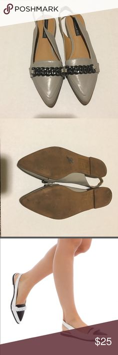 Izabella rue flats Adorable flats! In good condition some wear on the Bottum izabella rue  Shoes Flats & Loafers