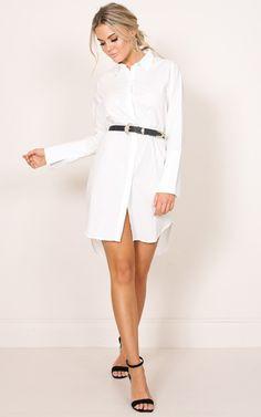 Showpo Big Picture shirt dress in white - 14 (XL) Casual Dresses Stylish Dresses, Casual Dresses For Women, Resort Dresses, Beach Wear Dresses, Maxi Wrap Dress, Fashion 2018, Fashion Fashion, Fashion Trends, Budget