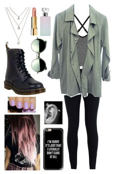 """""""Only a Few Days Left of School"""" by yoitsmeg87 ❤ liked on Polyvore featuring Revo, Ivy Park, NIKE, Dr. Martens, Casetify, Calvin Klein and Chanel"""