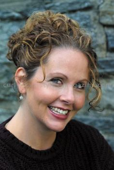 Curly Hair Looks - The Doubletake Curly Hair Style