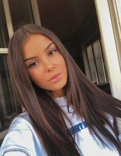 51 Gorgeous Hair Color Worth To Try This Season balayage hair color, fabmood, light brown hair color Light Brown Hair, Dark Hair, Brown Blonde Hair, Brown Hair Girls, Long Brown Hair, Brown Hair On Brown Skin, Darkest Brown Hair, Summer Brown Hair, Pretty Brown Hair