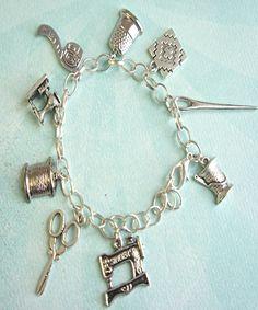 sewer's charm bracelet