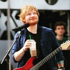 Ed and coffee-- my two favorites.❤️