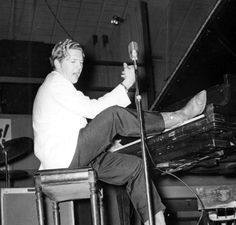 Jerry Lee Lewis | 19 year old Jerry Lee Lewis records first demos at Sun in 1956