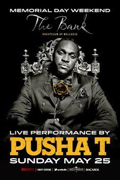 Anew Productions: Pusha T @ THE BANK - Las Vegas, NV
