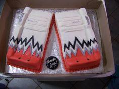 goalie hockey cake - Google Search