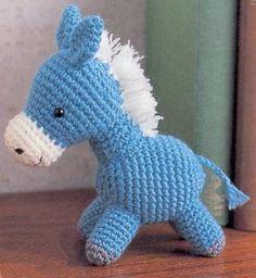 Horse Amigurumi ~ Free Russian Pattern