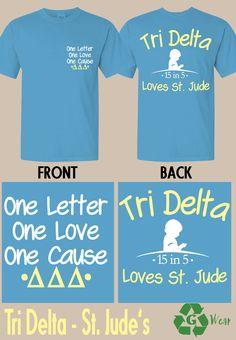 Tri Delta supports St. Jude!