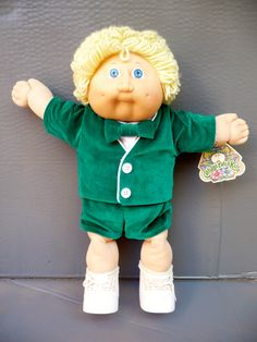 Cabbage Patch Kid Doll from 1983 by basicallyBaca on Etsy https://www.etsy.com/listing/204597999/cabbage-patch-kid-doll-from-1983