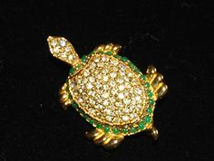 Nettie Rosenstein turtle pin
