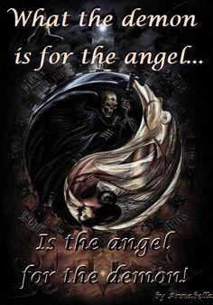 angel & demon. completely me