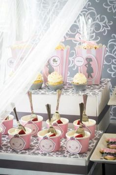 Pink & Grey Baby Shower/Kara's Party Ideas