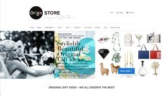 OriiginStore – STYLISHLY BEAUTIFUL ORIGINAL GIFT IDEAS – WE ALL DESERVE THE BEST! Online Gift Store, House Warming, Shop Now, Ads, Gift Ideas, Facebook, The Originals, Gifts, Beautiful