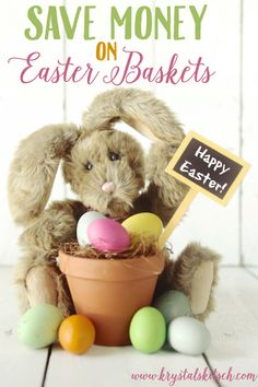 Save money on Easter this year with these simple tips to create meaningful and affordable Easter baskets!