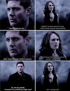 Dean and the Darkness Out Of The Darkness, and Into The Fire 11x01 Supernatural