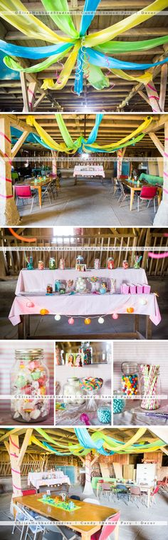 Thanks to the help of Pinterest our Candy Themed Teenage Birthday Party was a great success!!!
