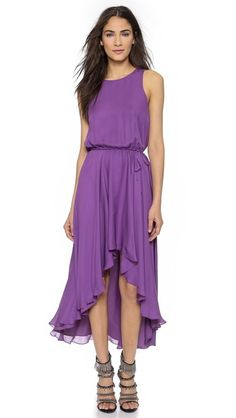 Haute Hippie Cowl Back Dress