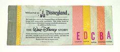 VINTAGE DISNEYLAND 1979 Disney Ticket Coupon Booklet... I remember these!
