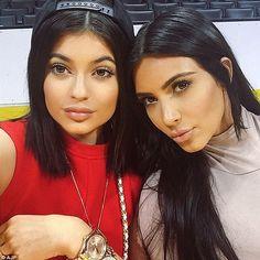 Kim + Kylie têm novidades quentíssimas.