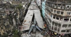 Aumenta nº de mortos em desabamento de ponte em Calcutá