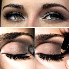 Amazing Black & Brown Smokey Eye Make Up Ideas, Looks & Images-8