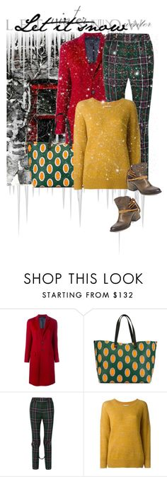 """""""Let it snow"""" by noconfessions ❤ liked on Polyvore featuring Joseph, Victoria Beckham, Gucci, Étoile Isabel Marant and Steven by Steve Madden"""
