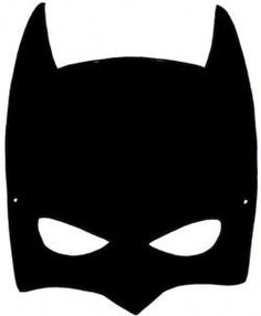 Free printable hero masks for Batman face mask template
