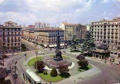 Milano, piazza Cinque Giornate